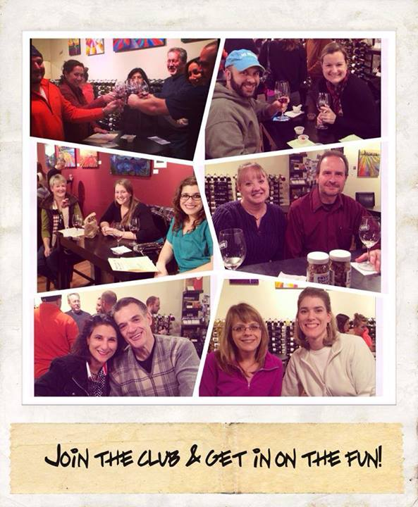Montage of happy Sipper Club members
